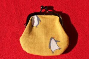 がま口財布(ペンギン)レビュー